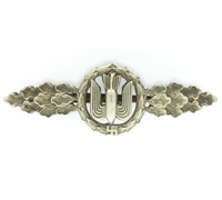 Luftwaffe Bomber Clasp in Silver by Juncker