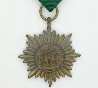 Bronze 2nd Class Ostvolk Medal without Swords