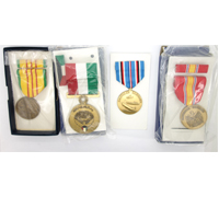 4 unissued US Medals