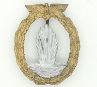 Refinished Navy Minesweeper Badge