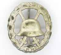 Imperial Silver Cut-out Wound Badge