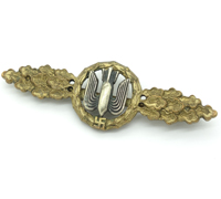 Luftwaffe Bomber Clasp in Gold by Juncker