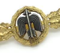 Luftwaffe Short Range Day Fighter Clasp in Gold