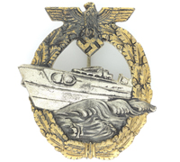 2nd Pattern E-Boat Badge by R.S.