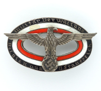 Military Administration in Belgium and Northern France Badge