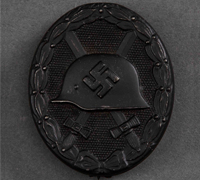 Black Wound Badge by 65