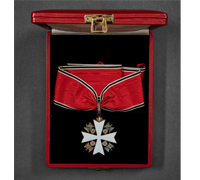 Cased Eagle Order 1st Class by Godet