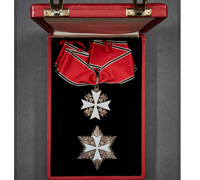 Order of the German Eagle Neck Cross and Star by Godet