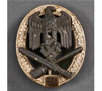 General Assault Badge; Grade II (25) - by JFS