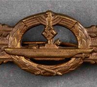Submarine Clasp; Bronze