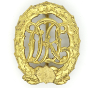 DeNazified Gold DRL Sports Badge