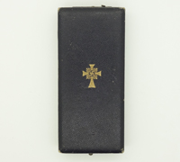 Case for Mother's Cross in Gold