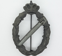 Italian Air Force Bronze Torpedo Aircraft Qualification Badge