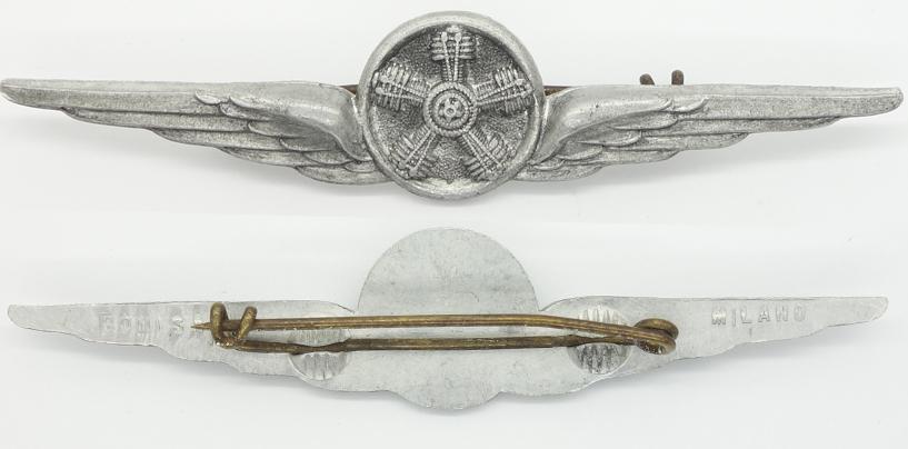 Italian Air Force Flight Engieer Badge
