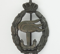 Royal Italian Air Force Reconnaissance At Sea Qualification Badge