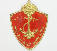 Italian Arm Shield for Milizia Nazioale Portuaria