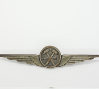 Italian Air Force Fascist Era Electro-Mechanic Qualification Badge