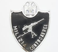 Italian Arm Shield for Anti-Aircraft Battery