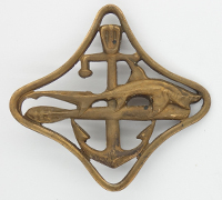 Italian  Navy Submarine War Navigation Badge