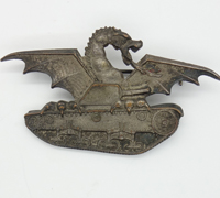 Italian Tank Badge; First Version