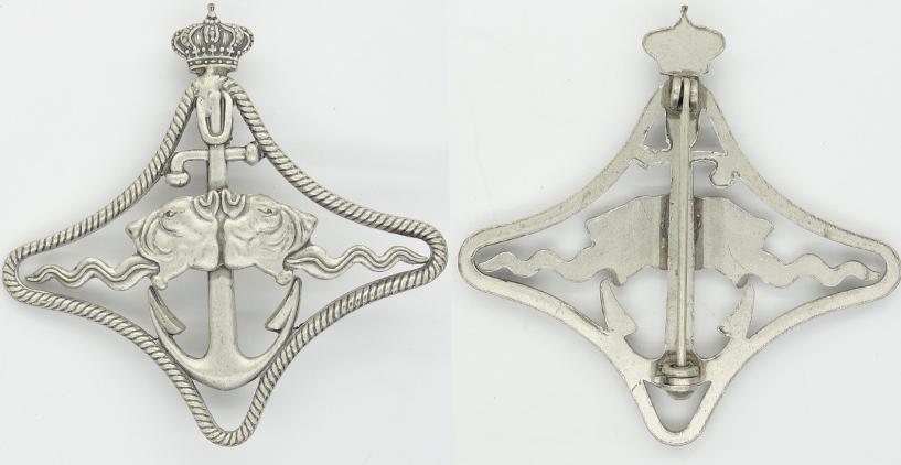 Italian Naval Battleship Badge