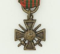 French Miniature Croix de Guerre