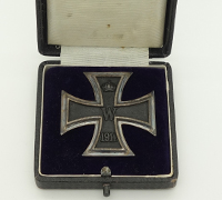 Cased Imperial 1st Class Iron Cross by KAG