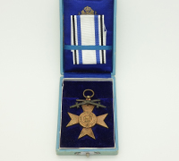 Cased Bavarian Military Merit Order 3rd Class