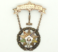 Order of the Eastern Star Female Masonic Medal