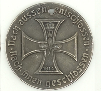 Germany Entry into Paris Medal