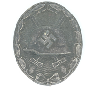 Silver Wound Badge by 4