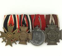 4 piece Medal Bar