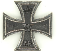Imperial 1st Class Iron Cross by WS