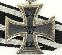 Imperial 2nd Class Iron Cross by Wilhelm Deumer