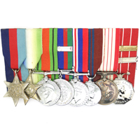H.E. Swanson's Canadian 8 Place Medal Bar
