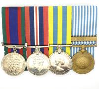 JFH Norman's 4 Place Medal Bar