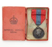 L. Bishop's Imperial Service Medal