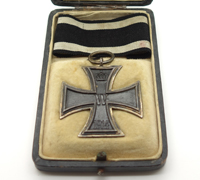 Cased Imperial 1st Class Iron Cross by CD 800