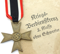 2nd Class War Merit Cross with Issue Packet