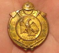 Imperial Prussia Republic Fire Service Merit Medal