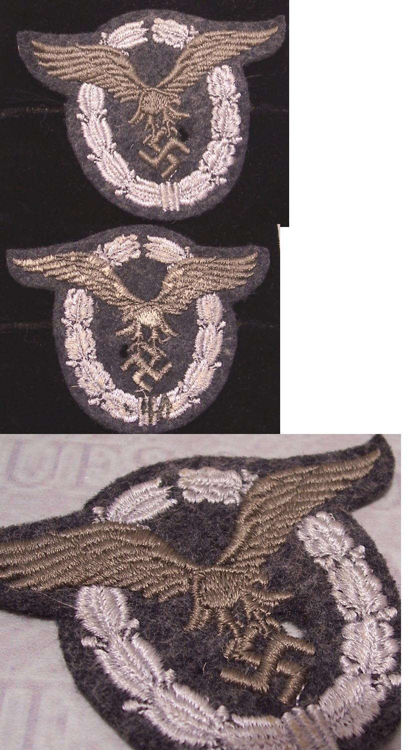 Pilot badge in cloth