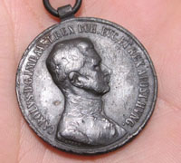Imperial Austrian Silver Bravery Medal 1917