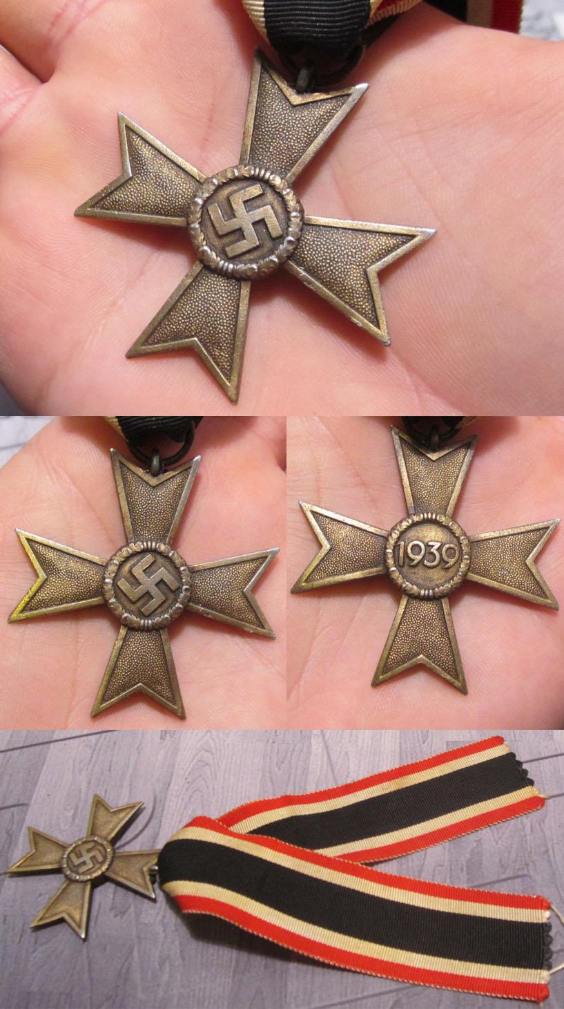 2nd Class War Merit Cross without Swords