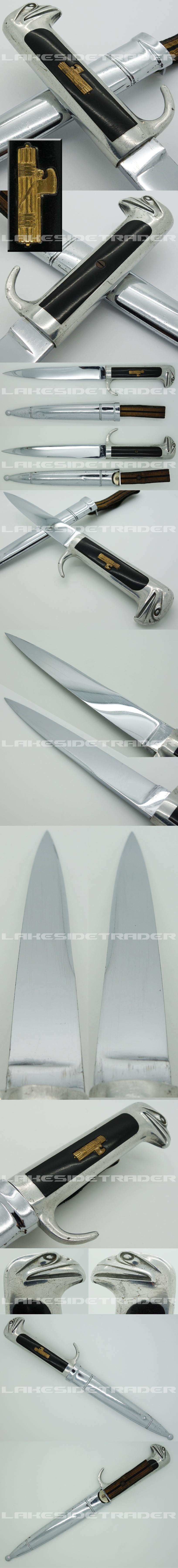 Italian MVSN 1st Model Leaders Dagger