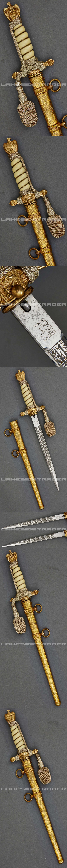 A Model 1938 Dagger for Naval Officer