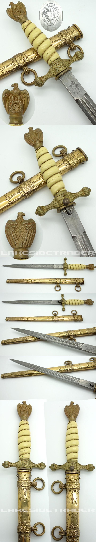 2nd Model Navy Dagger by Paul Weyersberg