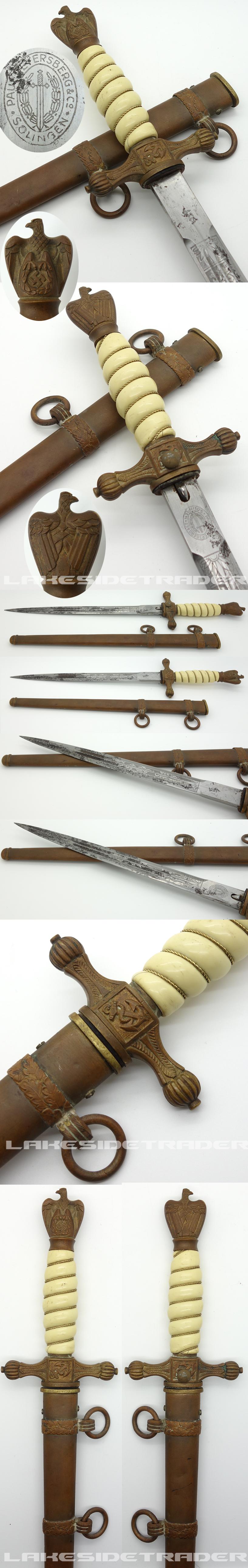 Paul Weyersburg Navy Dagger