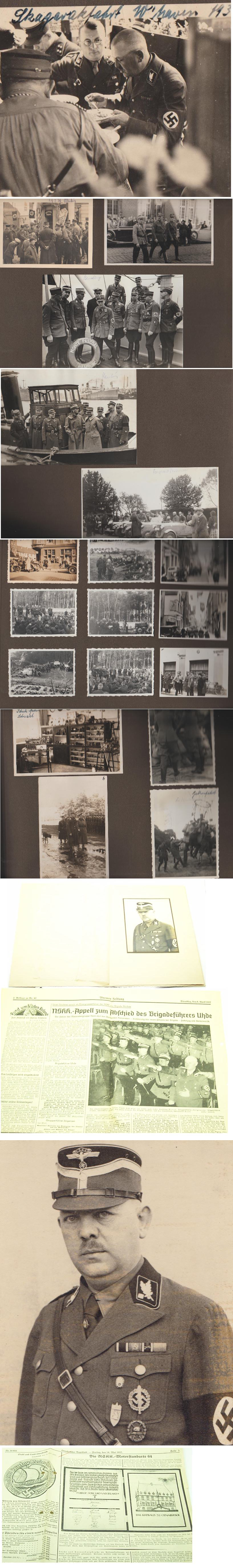 Personal Photo Album of NSKK Brigadefuhrer Uhde
