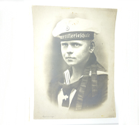 Large Portrait of Navy Sailor.