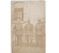 3 Imperial Soldiers Postcard